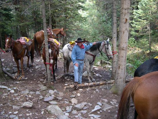 Echo Canyon Guest Ranch : After a long day hurding cattle...