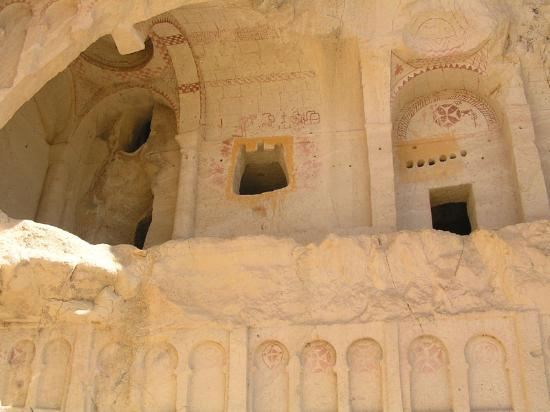 Kelebek Special Cave Hotel : open air museum in Goreme