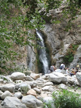 This is the destination of Eaton Canyon trial
