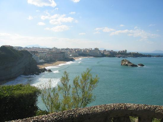 Hotel Atalaye : Southern beaches at Biarritz
