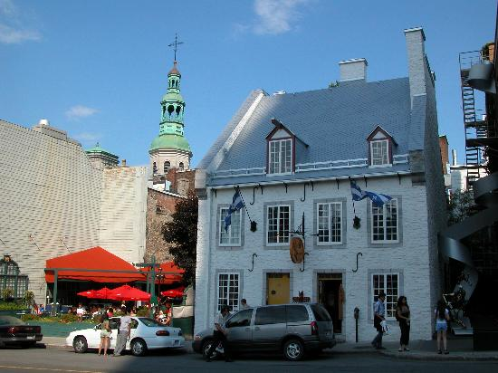 Montreal, Kanada: Place dArmes, VieuxQuebec
