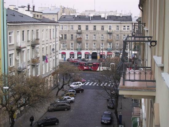 Hetman Hotel: View from Balcony