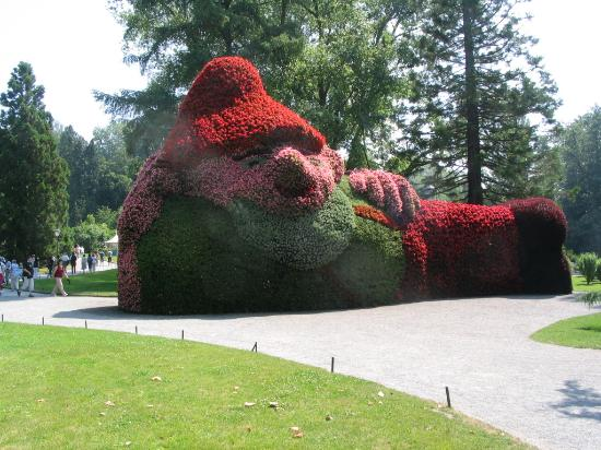 Baden-Wurttemberg, Germany: Flower Gnome