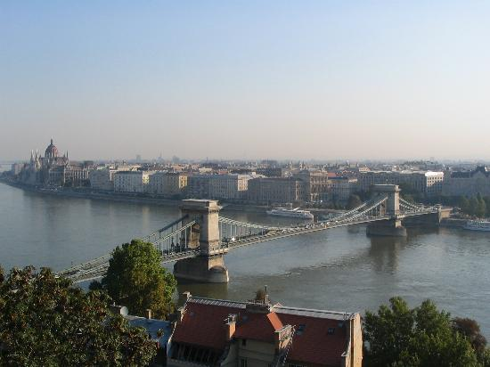Budapest, Hungary: View from Castle