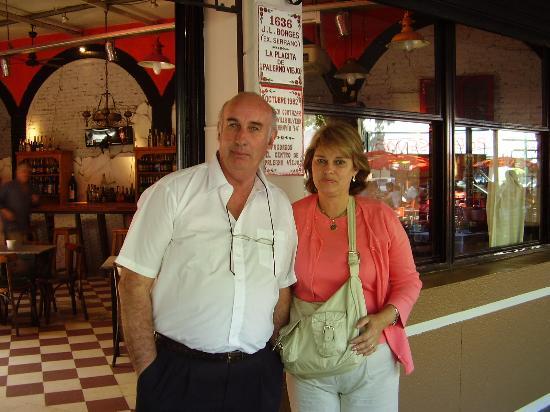 Didi Soho Hotel: Dr. A. Ascheri y Sra. Diana Bergalli