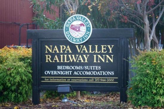 Napa Valley Railway Inn Foto