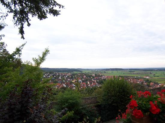 Hotel Burg Colmberg: View from Room