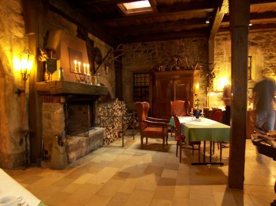Hotel Burg Colmberg: Breakfast Room