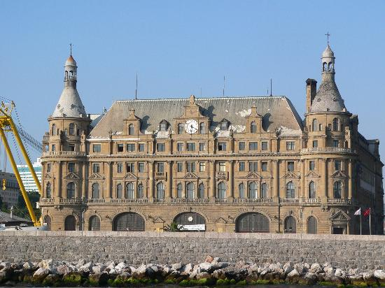 "Istanbul, Turkey: It's a picture we took of ""Haydarpasa"". It's the first train station on the asian side of..."