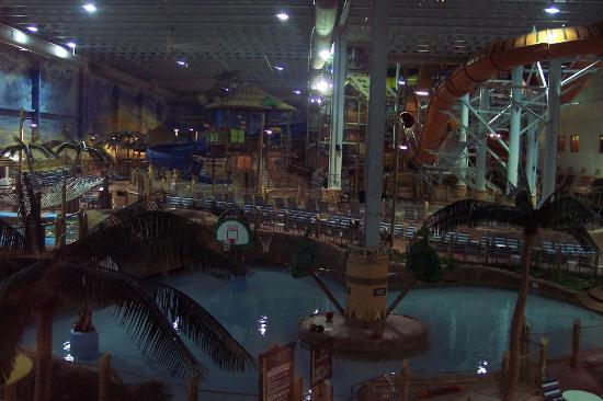 Kalahari Resorts & Conventions: Indoor waterpark