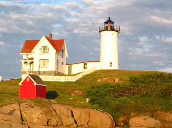 เมน: Nubble Light House, Maine