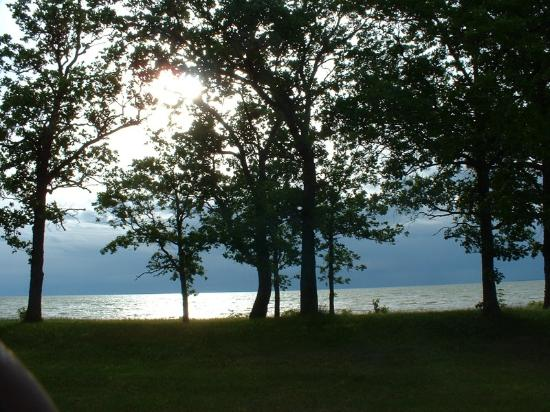 Beltrami, MN: Beach Area on the west side of Red Lake