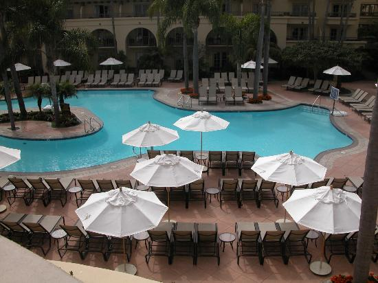 The Ritz-Carlton, Laguna Niguel: The worse it gets at The Ritz - a pool view.
