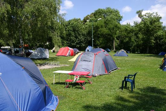 Camping Vienna West: tent area