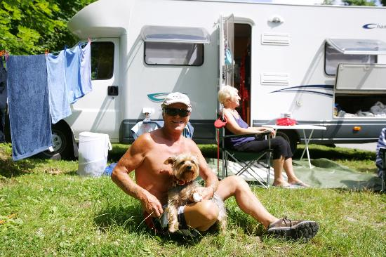 Camping Vienna West: guests from uk