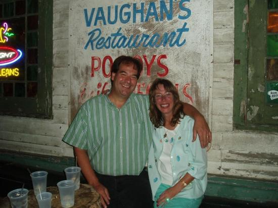 Vaughan's Lounge: Vaughan's Mark and Lisa