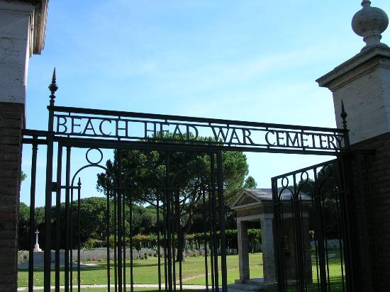 Beach Head War Cemetery, Anzio