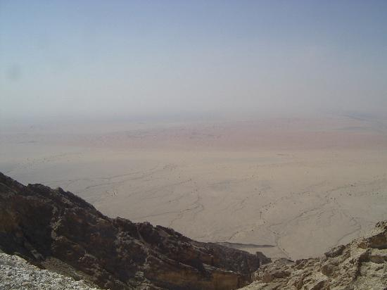 Hilton Al Ain: The Empty Quarter seen from Jebal Hafeet Mountain, Al Ain