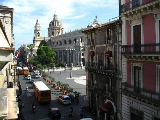 Hotel Savona: View from room of cathedral
