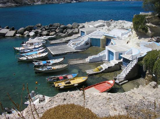 Milos by, Grækenland: Mandrakia, Milos island