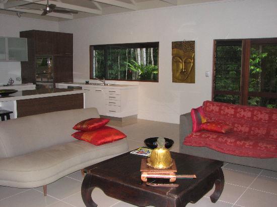 ماي تاي ريزورت: villa living room
