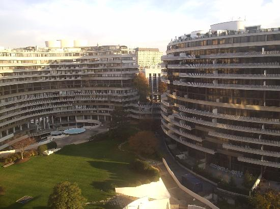 The Watergate Hotel: View from Forrest Gump's Window