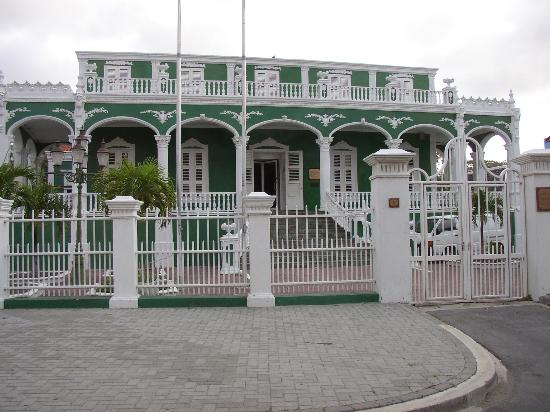 Curacao Wedding Cake Building In Willemstad