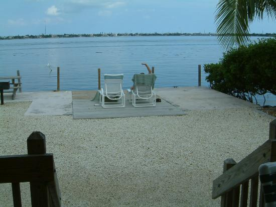 Parmer's Resort: view from terrace of 1 bed apartment