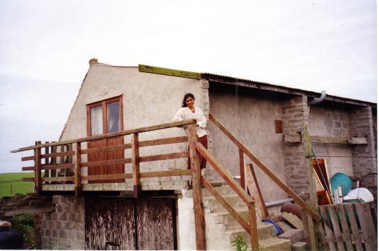 Szetlandy, UK: Farmhouse, Shetland islands