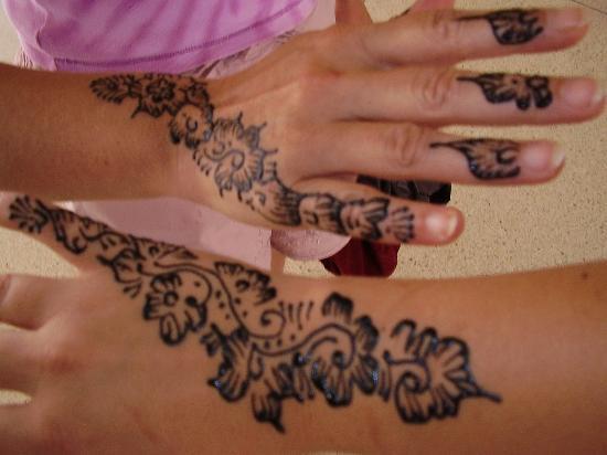 Henna picture of hotel club al moggar agadir tripadvisor for Henna tattoos locations