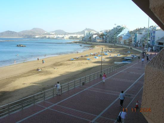 Hotel Exe Las Canteras: taken from room