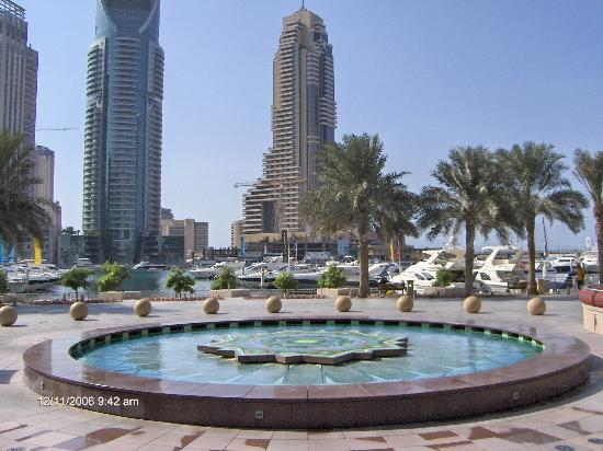 Grosvenor House Dubai: GHH from marina