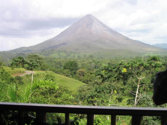 Lost Iguana Resort & Spa: Arenal Volcano from our Balcony
