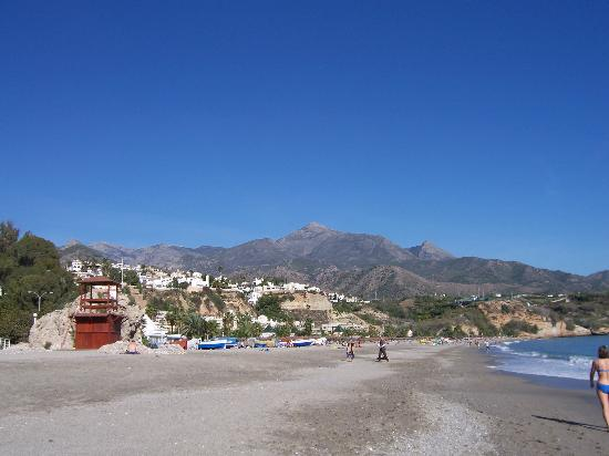 Nerja Club: Playa Burriana
