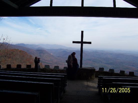Greenville, Carolina del Sur: open air church called Pretty Place