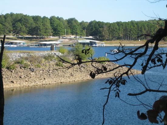DeGray Lake Resort State Lodge : DeGray lake Resort Marina