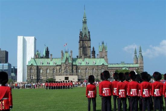 Ottawa, Canada: Changing of the Guard