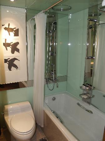 جراند حياة سيول: Business level bathroom - very contemporary