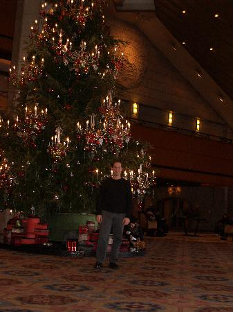 The Shilla Seoul: Merry Christmas! Shille hotel lobby - now undergoing renovation