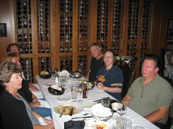 555 East American Steakhouse Extensive Wine List