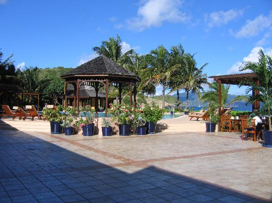 Peter Island Resort and Spa: Lobby, Pool, Restaraunt, Bar area
