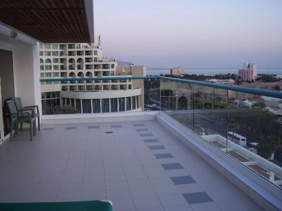 Isrotel Dead Sea Hotel & Spa : My Balcony