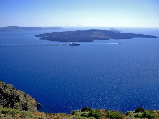 سانتوريني, اليونان: Santorini Fira - Volcano View 2