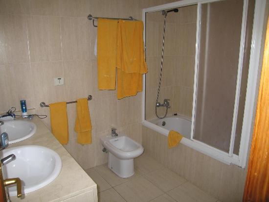 Villas Blancas: La salle de bain