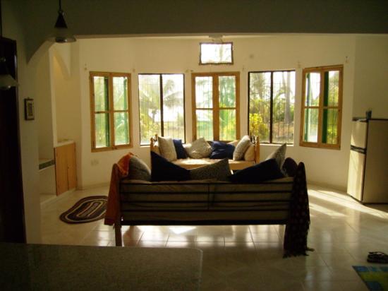 Matemwe Baharini Villas: common room in duplex