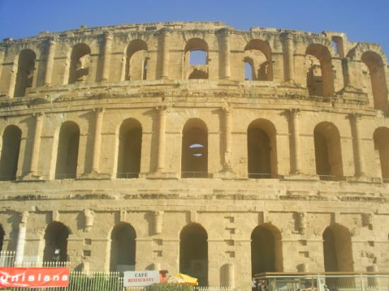 Hotel Les Citronniers: Roman ruins used for gladiator