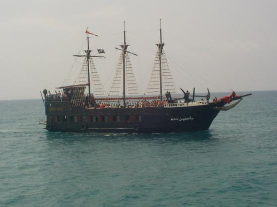 Hotel Les Citronniers: Pirate Ship (one of the trips)
