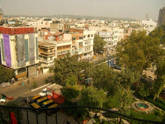 Jaypee Siddharth:                   View from my hotel window.