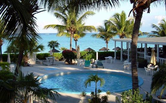 Sibonne Beach Hotel View Of Grace Bay Pool And Bistro From