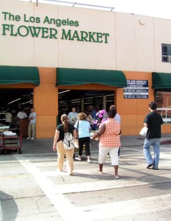 Entering the Los Angeles Flower Market